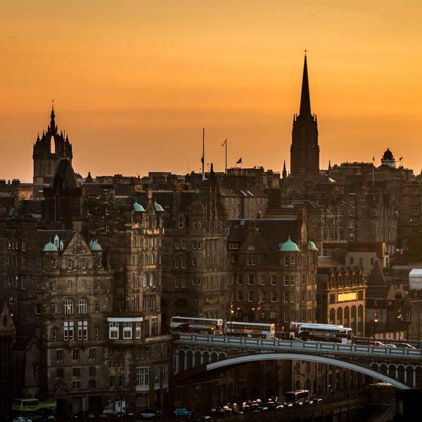Edinburgh in Schottland